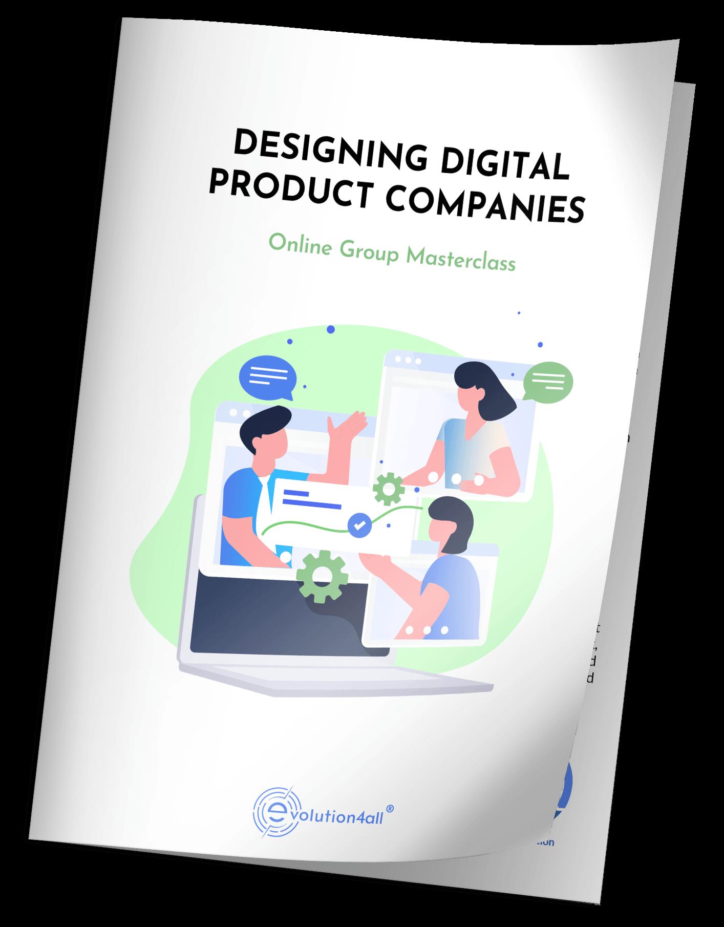 FREE WORKSHOP FOR EXECUTIVES OF SM Businesses: DESIGNING A DIGITAL PRODUCT ORGANISATION